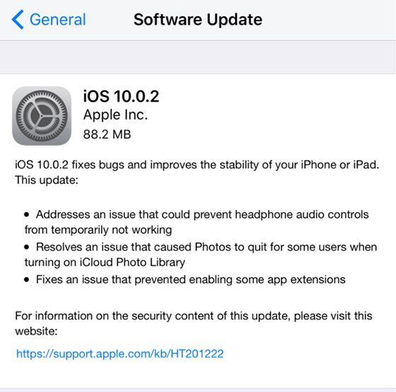 Firmware Update Apple