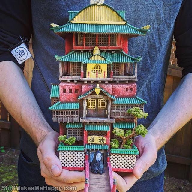 Studson Studio Turns Garbage Into Incredible Miniatures Inspired By Studio Ghibli
