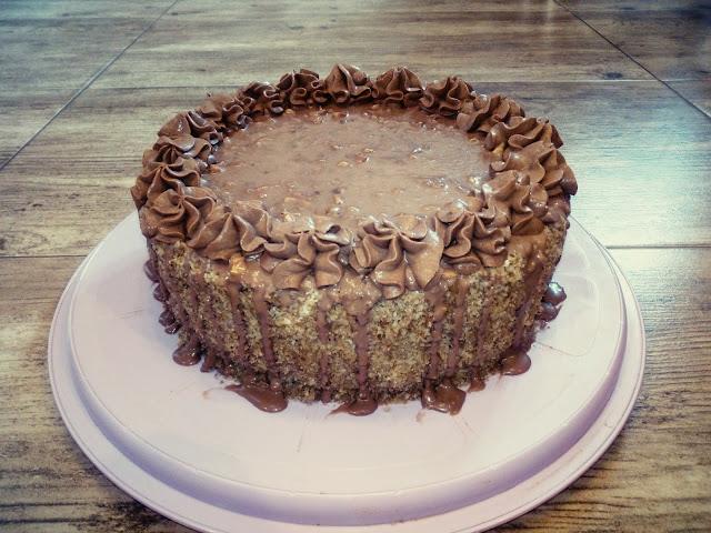 tort ferrero orzechowo czekoladowy tort z kremem truflowym tort z kremem wafelkowym tort z orzechami tort z czekolada tort z kremem czekoladowym najlepszy tort