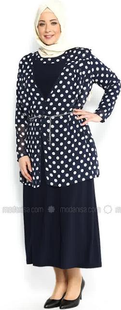 Fashion Baju Muslim untuk Orang Gemuk