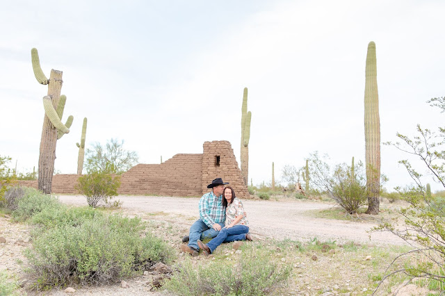 Arizona Desert Engagement Session by Micah Carling Photography