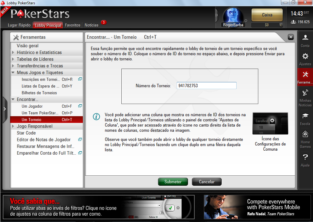 Freeroll Password Pokerstars