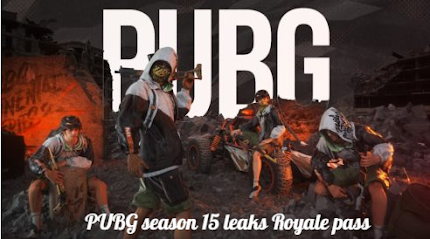 PUBG season 15 leaks Royale pass