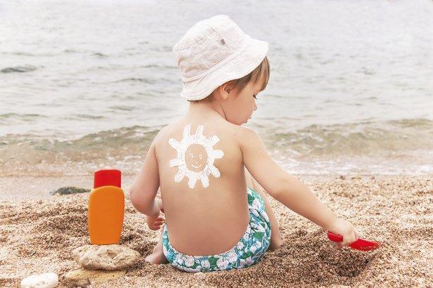 kremy z filtrem dla dzieci