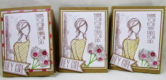 Dawns Craft Place: Hey Girl Unity Stamp Design