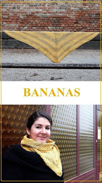 The Bananas Shawl