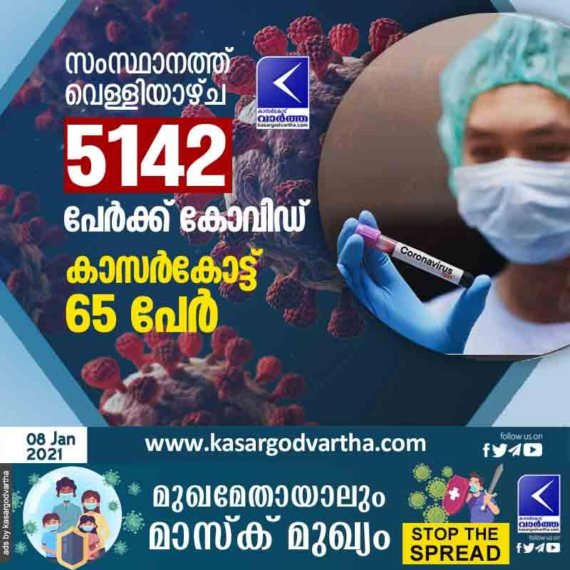 Kasaragod, News, Kerala, Top-Headlines, Trending, COVID-19, Test, Thiruvananthapuram, Covid Report In Kerala.