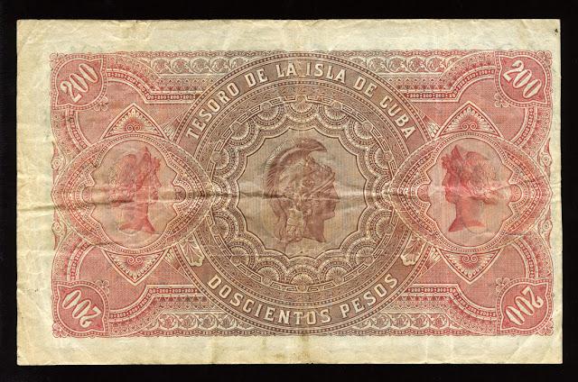 Cuba banknotes currency money US $ Treasury Note bills