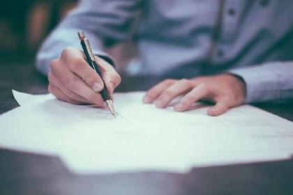 7 Aturan Membuat Surat Lamaran Kerja Yang Baik dan Benar