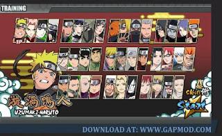 Download Naruto Senki Versi 1.17 full character