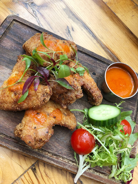 the customs shed novotel cardiff buffalo chicken wings