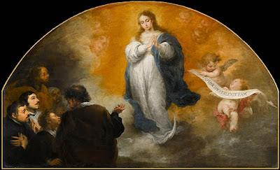El triunfo de la Inmaculada Concepción - Murillo - 1662/65 Óleo sobre tela, 172 x 298 cm Museo del Louvre - París