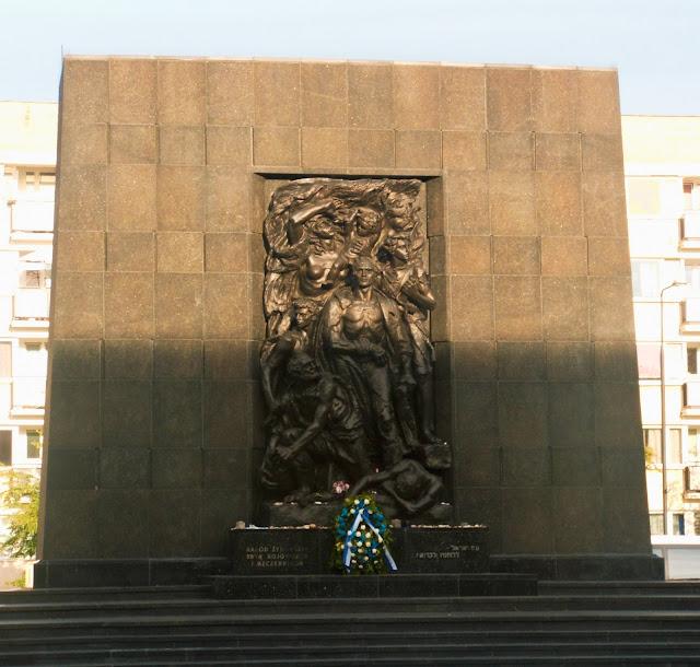 pomnik, bohaterowi, getto warszawskie, Warszawa, Muzeum Żydów Polskich, Polin, muzeum Polin