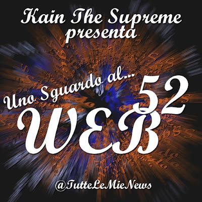 Uno sguardo al #web N° 52