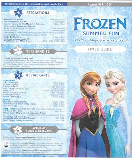 Frozen Summer Fun Times Guide Disney's Hollywood Studios
