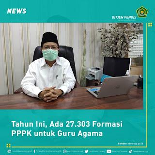 27.303 Formasi PPPK untuk Guru Agama