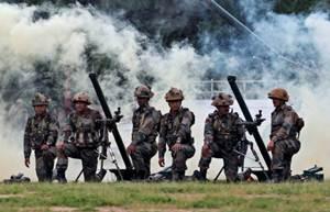 भारत ने पाकिस्तान की ओर से गोलीबारी के बाद लॉन्च पैड्स
