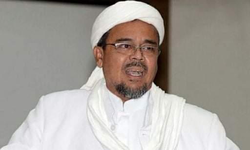 Habib Rizieq dan 5 Orang Lain jadi Tersangka Kerumunan di Petamburan