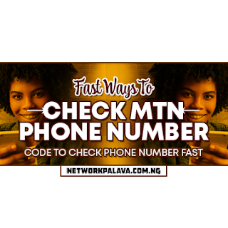 how to check your MTN number free