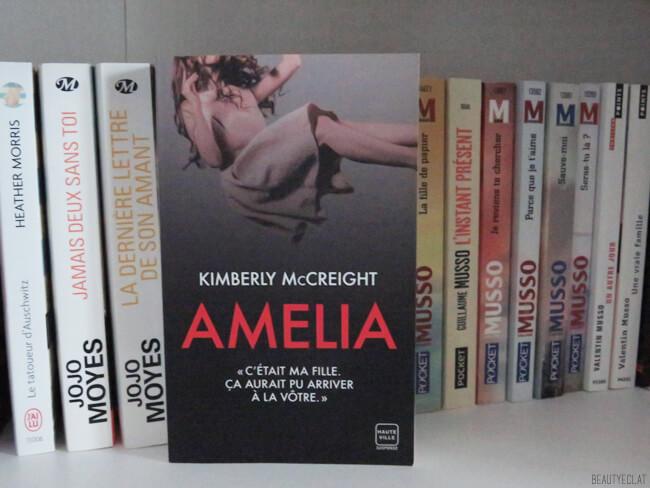 avis lecture amelia kimberly mc creight