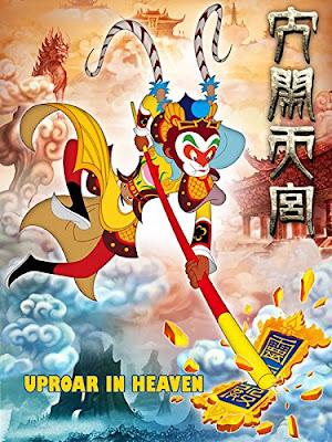 The Monkey King Uproar In Heaven 2012 Dual Audio Hindi 720p BluRay 850MB