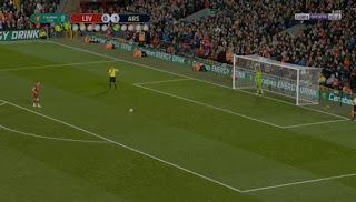 اهداف وركلات ترجيح مباراة ليفربول وارسنال في كأس الرابطة الانجليزية