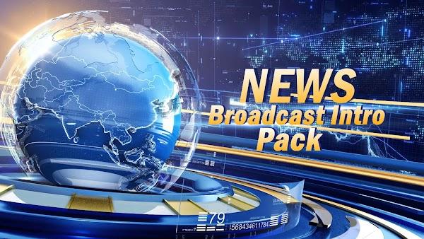 Filmstocks News Broadcast Intro Pack   Filmora 9 Effects