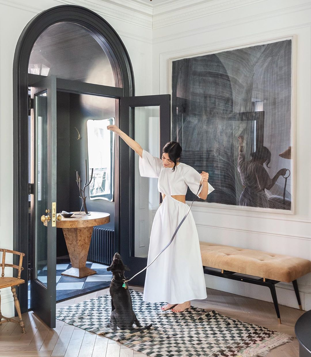 Décor Inspiration   At Home With: Athena Calderone, Cobble Hill