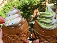 Ice cream lovers in New York Medium Joy of Watching Ice Cream with Cone Taiyaki