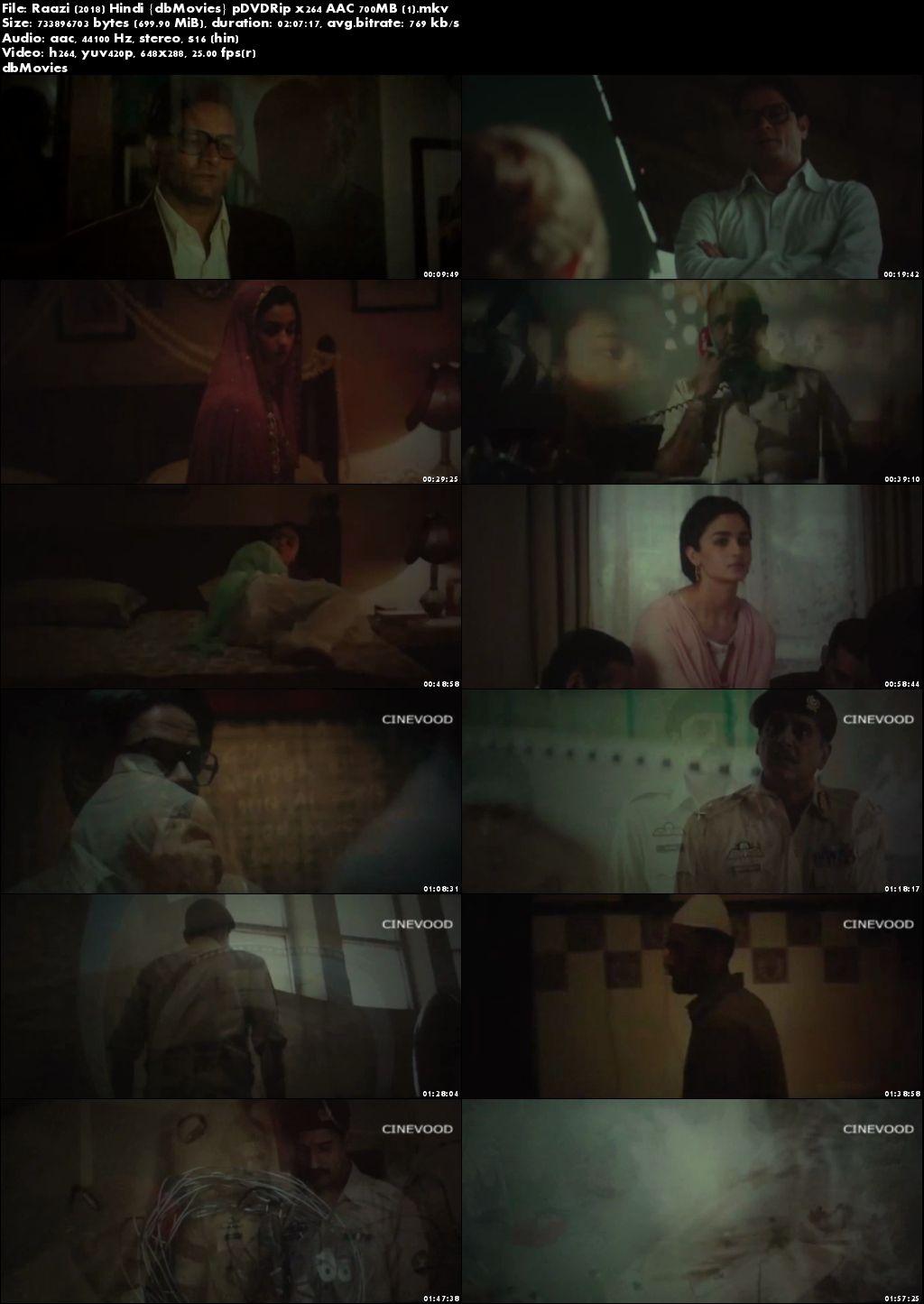 Screen Shots Raazi 2018 Full Hindi Movie Download HD Free 720p