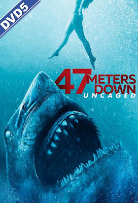 47 Meters Down Uncaged 2019 DVD R1 NTSC Latino Cam