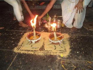 Purattaasi Thiruvonam and Sravana Deepam   सत्सङ्ग