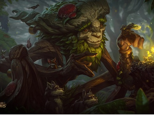 Tướng Ivern giống như đấu tuyệt đường rừng với có vẻ suport mạnh đồng đội về cuối trò chơi