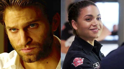 """Station 19 4x08 """"Make No Mistake, He's Mine"""" - Walker 1x08  """"Fine Is A Four Letter Word"""""""