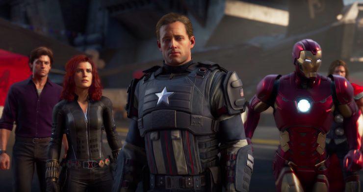 e3 2019 avengers demo