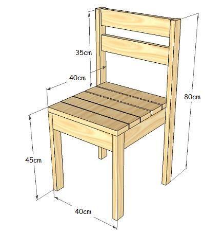 ¿Cómo puedo fabricar sillas de madera