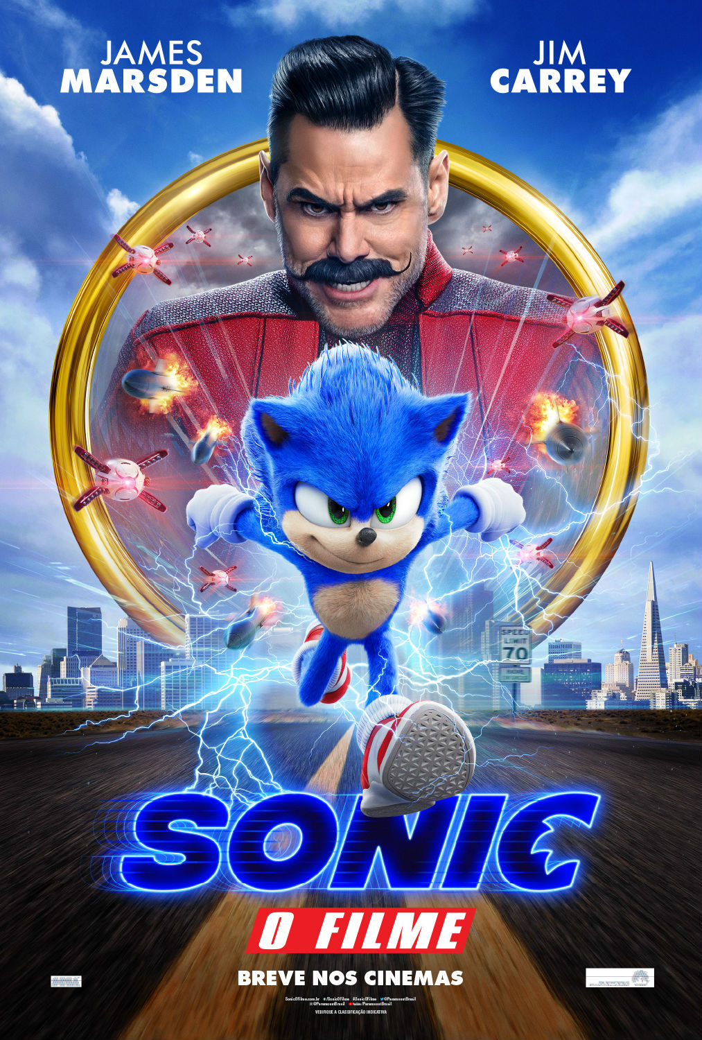 Sonic: O Filme – WEB-DL 720p | 1080p Torrent Dublado / Dual Áudio e Legendado (2020)