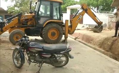 JCB।Kanpur News।Free photos of JCB।Kanpur JCB।Today News।Kanpur News।Enscounter Kanpur।Kanpur enscounter।Vikas Dube.