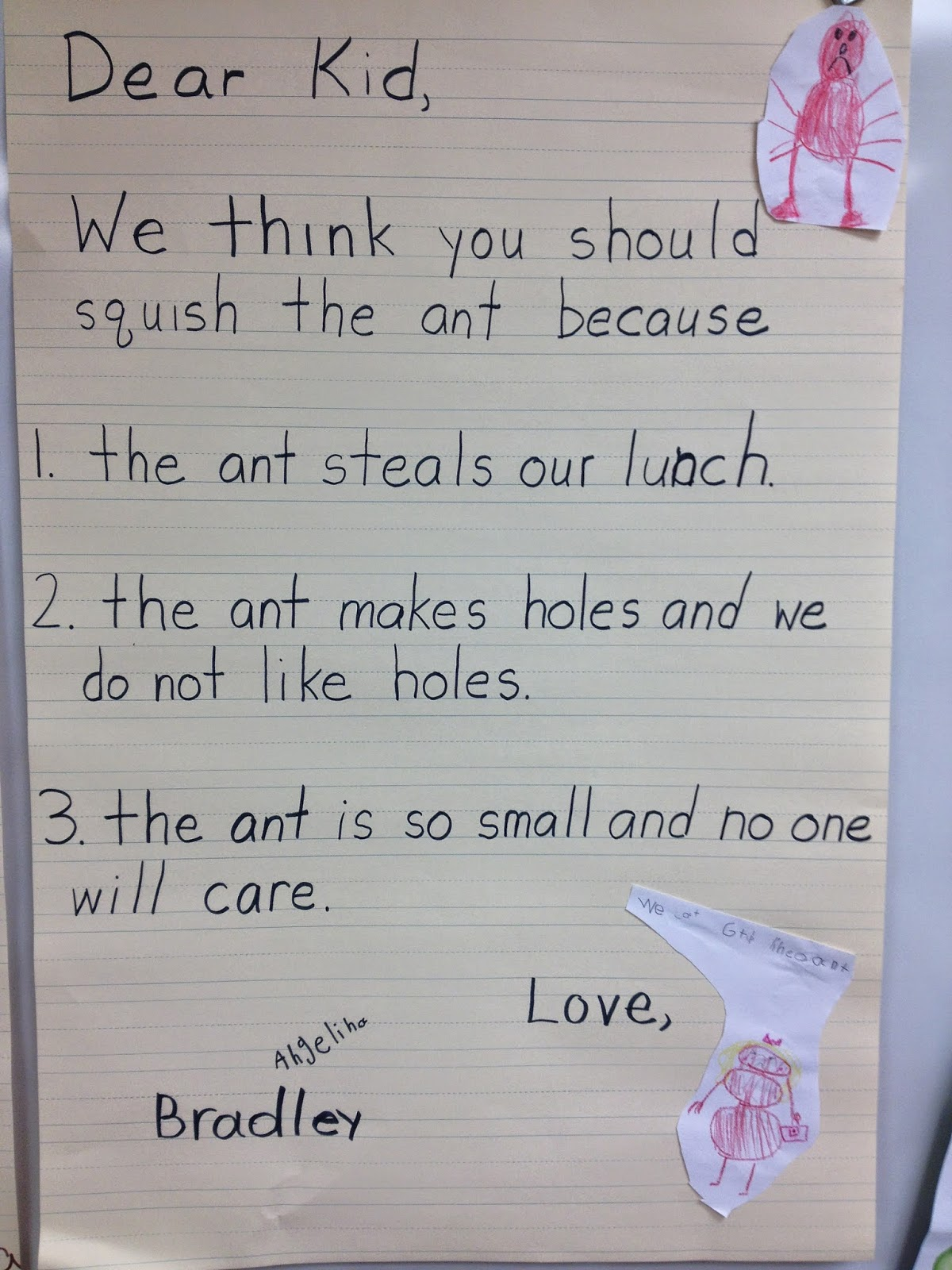 How To Teach A Child To Write A Persuasive Letter