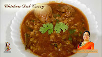 viaindiankitchen -  Chicken Dal Curry