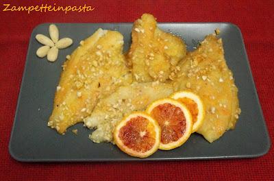 Filetti di platessa all'arancia - Ricetta di pesce con le arance