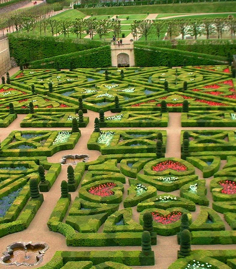 Potager Garden Blogs: Potager Gardening: Château De Villandry