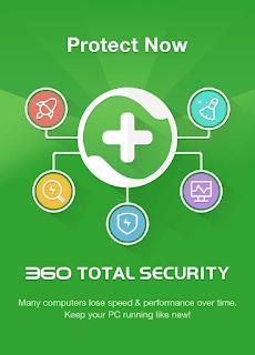 برنامج Total Security 360 - 2020  ماسح متقدم للفيروسات يكشف جميع انواع الفيروسات والملفات الضارة والتروجان والعمل على إزالتها