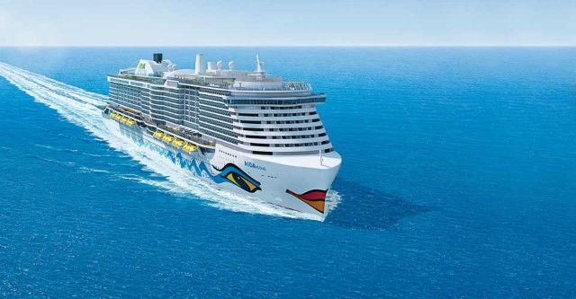 AIDAnova mit LNG Antrieb (C) AIDA Cruises