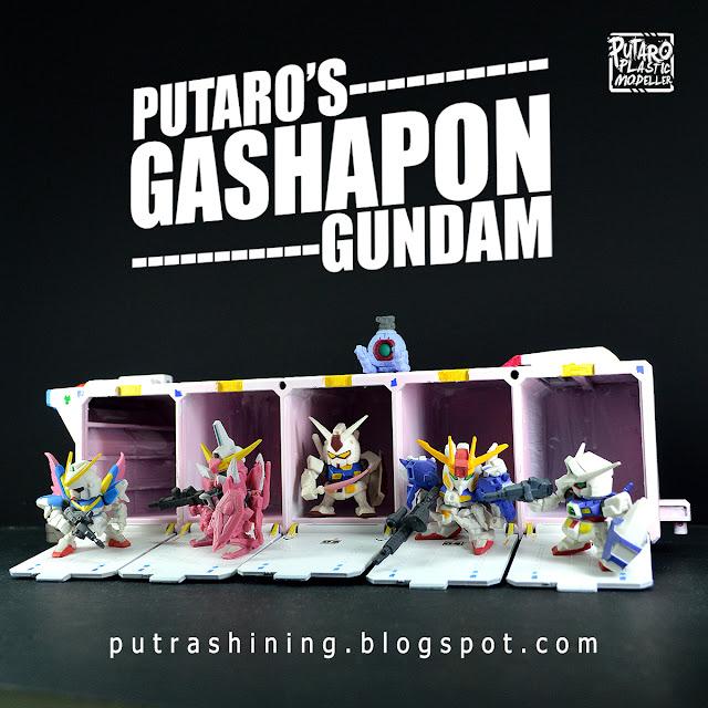 Putaro's Gashapon Gundam Space Ship Diorama by Putra Shining
