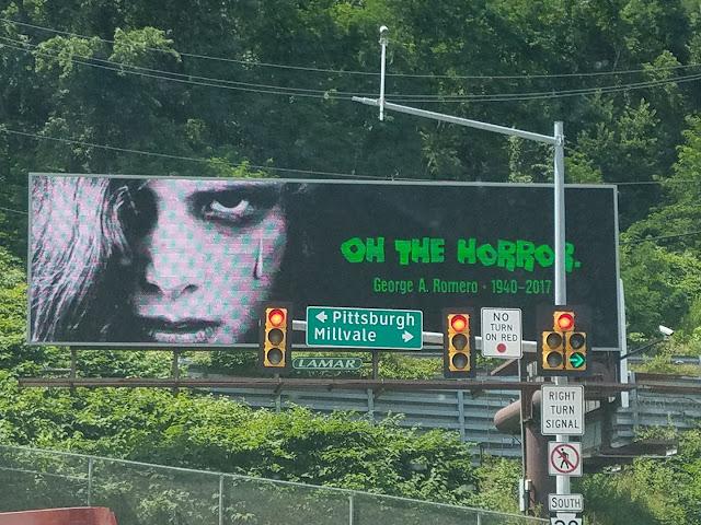 Romero: omaggio di Pittsburgh
