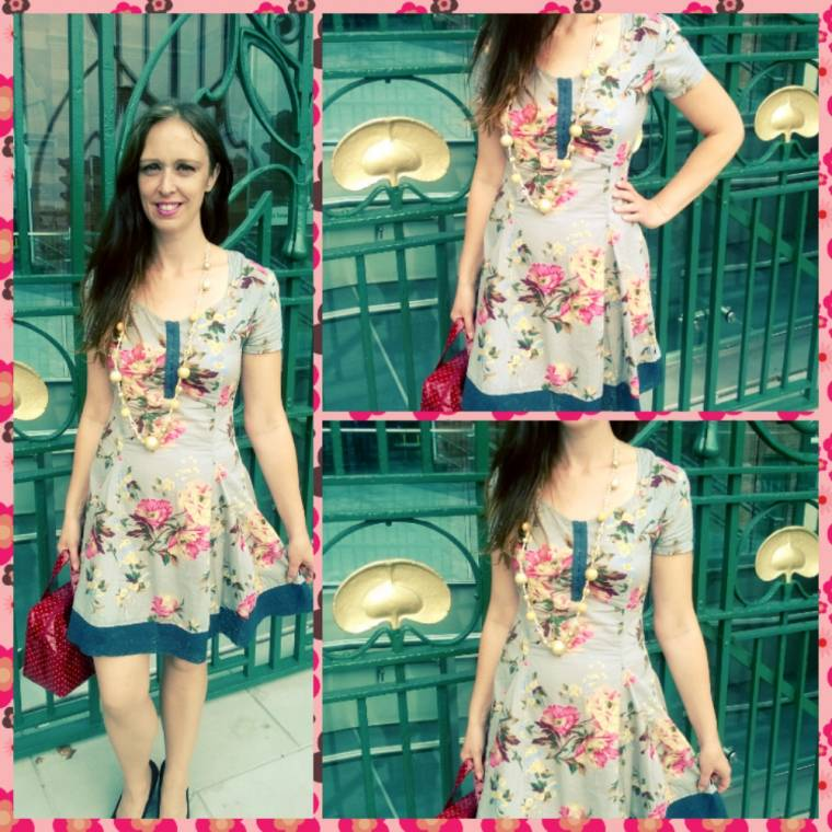 Peach Blossom Spring Dress: Joe Browns Dress Review