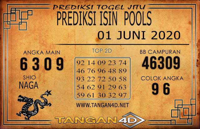 PREDIKSI TOGEL ISIN TANGAN4D 01 JUNI 2020