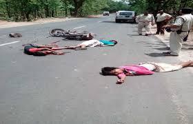 दो बाइकों में जबरदस्त भिड़ंत, एम्बुलेंस ना पहुँचने से तीन युवकों की मौत, दो जने जयपुर रैफर