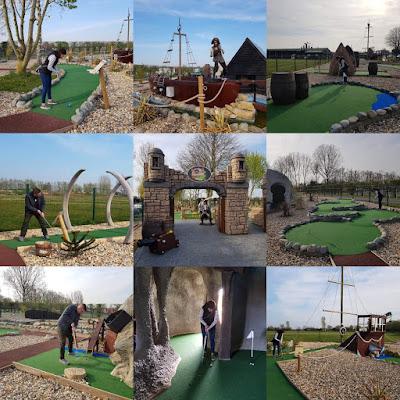 Smugglers Bay Adventure Golf at Stonham Barns Golf Park